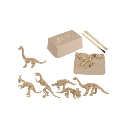 Dinosaurier-Skelett zum Ausgraben: 3