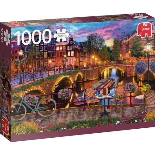 Jumbo Puzzle Die Grachten von Amsterdam