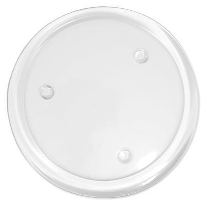 Assiette en verre, transparent, 18,5 cm Ø