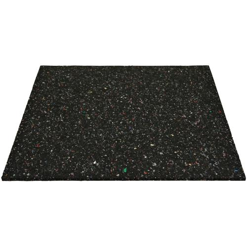 SZ METALL Gummimatte, zur Dämpfung, 60x60 cm (LxB) schwarz Metall Gummimatte