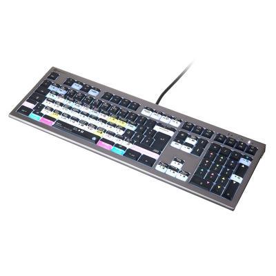 Logickeyboard Astra 2 Davinci Resolve DE Mac