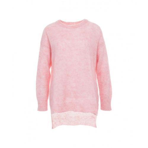 8Pm Damen Pullover Monica in Mohair Pink