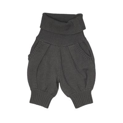 Max Azria Shorts: Gray Solid Bot...