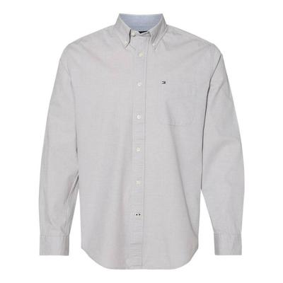 Tommy Hilfiger 13H1861 Capote End-on-End Chambray Shirt size 2XL   Cotton