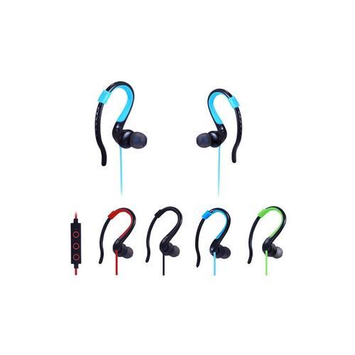 2x Bluetooth Sport-Kopfhörer in Rot