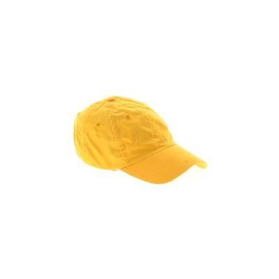 Assorted Brands Baseball Cap: Yellow Accessories
