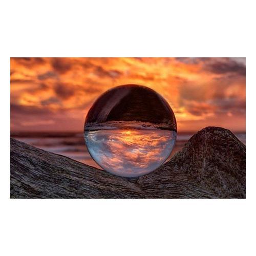 Sphärische Kristall-Linse 50 mm: 1