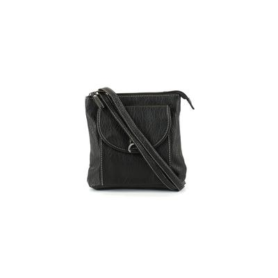 Strada Fashion - Strada Fashion Crossbody Bag: Black Solid Bags