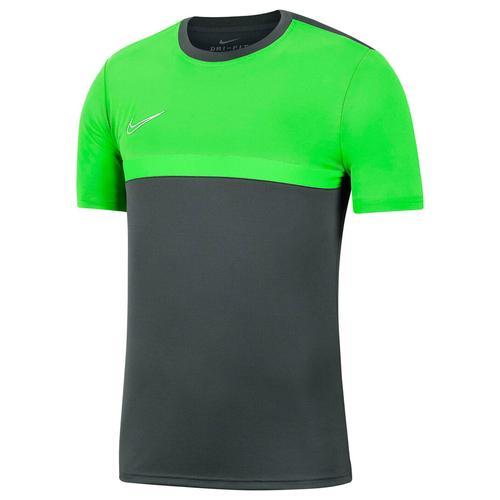 Nike Kinder Fußballshirt Kurzarm, grau/grün, Gr. 137-147