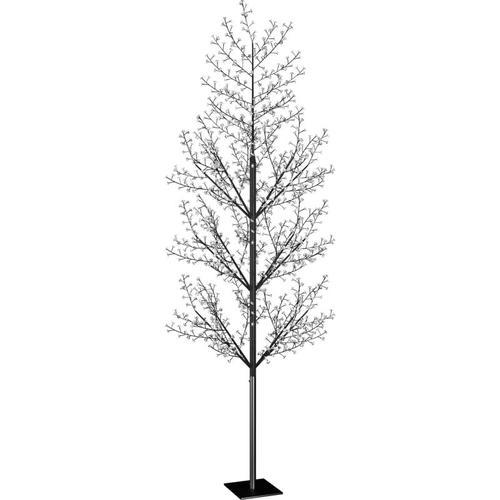 Weihnachtsbaum 1200 LEDs Blaues Licht Kirschblüten 400 cm