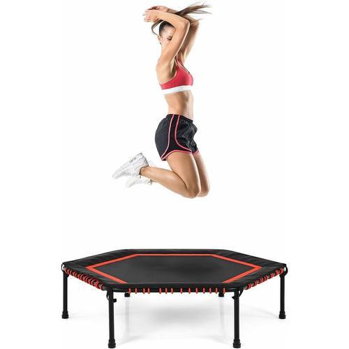 ?126 cm Mini Trampolin, Fitness Trampolin, Kindertrampolin, Gartentrampolin, Indoor- und