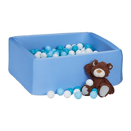 Bällebad Schaumstoff blau