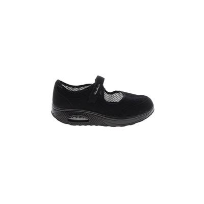Fashion - Fashion Sneakers: Black Solid Shoes - Size 42