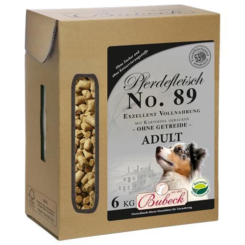 Bubeck Trockenfutter Pferd und Kartoffel Mix, (1), 6 kg braun Hundefutter Hund Tierbedarf