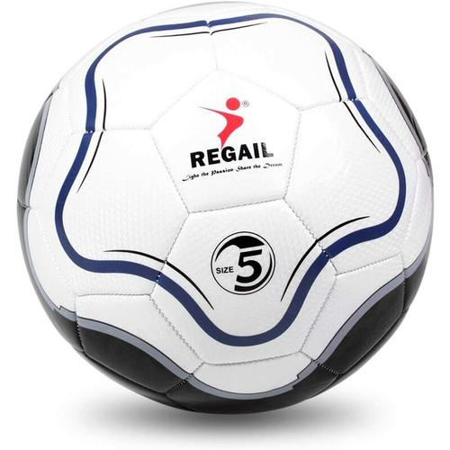 Bares - Offizielle Größe 5 Standard Fußball PU Fußball Ball Bälle Fußball für Anfänger