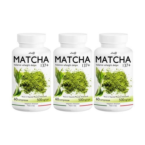 Lineadiet Matcha-Tabletten: 360 Tabletten
