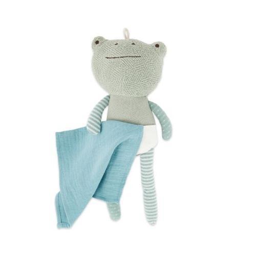 Baby Kuscheltier Spieltier Frosch ca 30cm Plüsch Greifling Baby Schmusetier Kind Kuscheltiere blau