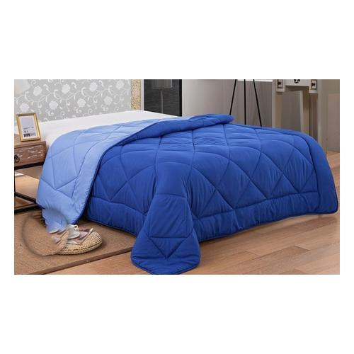 Bettdecke: 240 x 200 cm/Blau