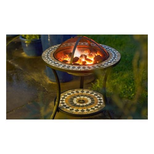 Gartenfreude Feuerschale Mosaik