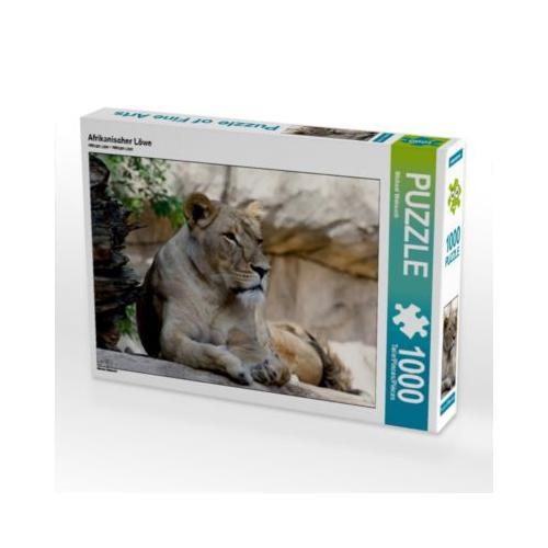 Afrikanischer Löwe Foto-Puzzle Bild von Michael Weirauch Puzzle
