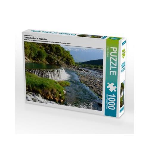 Landschaften in Albanien Foto-Puzzle Bild von Frauke Scholz Puzzle