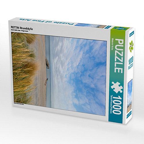 RETTIN Strandidylle Foto-Puzzle Bild von Melanie Viola Puzzle