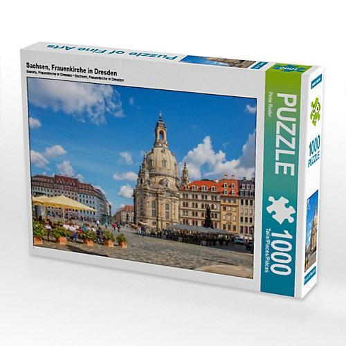 Sachsen, Frauenkirche in Dresden Foto-Puzzle Bild von Peter Roder Puzzle