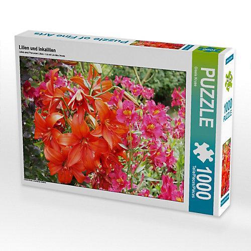 Lilien und Inkalilien Foto-Puzzle Bild von Gisela Kruse Puzzle