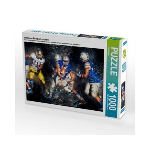 American Football - so cool Foto-Puzzle Bild von Peter Roder Puzzle
