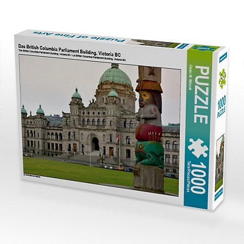 Das British Columbia Parliament Building, Victoria BC Foto-Puzzle Bild von Dieter Wilczek Puzzle