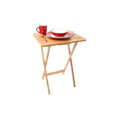 Folding TV Table: One