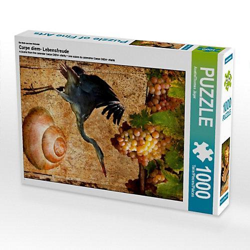 Carpe diem- Lebensfreude Foto-Puzzle Bild von Anette Jäger Puzzle