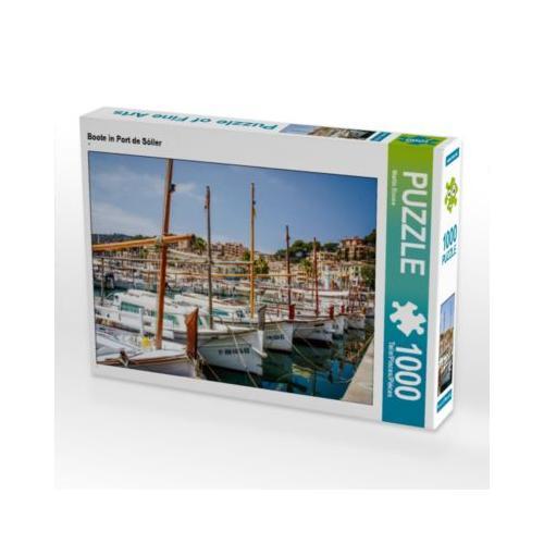 Boote in Port de Sóller Foto-Puzzle Bild von We Love Mallorca Puzzle