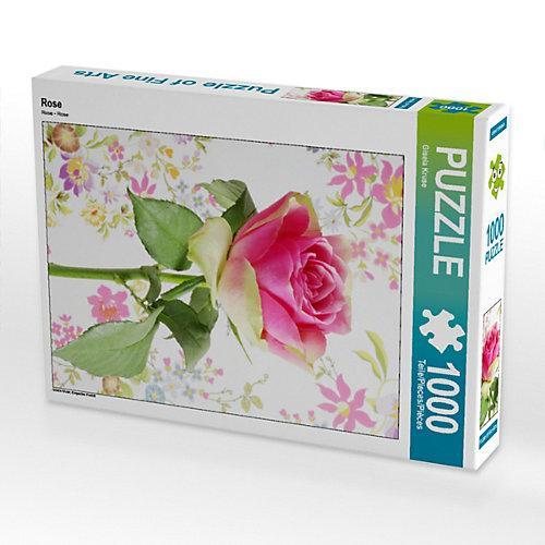 Rose Foto-Puzzle Bild von Gisela Kruse Puzzle