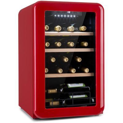Klarstein - Vinetage 19 Uno Getränkekühler Kühlschrank 70 Liter 4-22°C Retro-Design