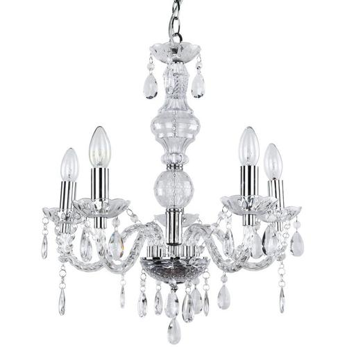 Lux.pro - Kronleuchter Elegance 56 x Ø 52 cm Kristall/Chrom