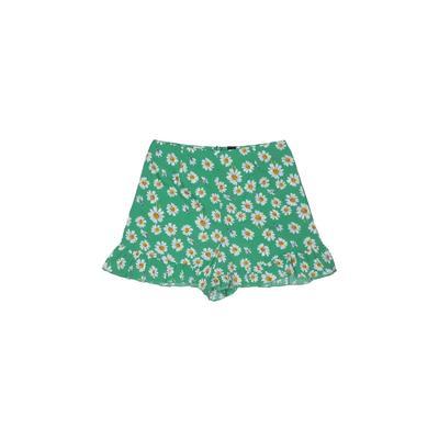 Infinity Shorts: Green Print Bot...