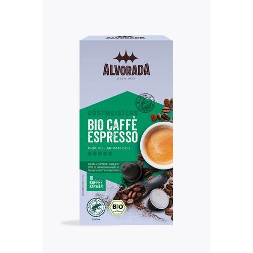 Alvorada Caffè Espresso Bio 10 Kapseln Nespresso® kompatibel