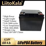 LiitoKala – batterie LiFePO4 Rec...