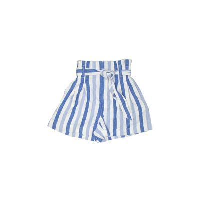 Madewell Shorts: Blue Stripes Bo...