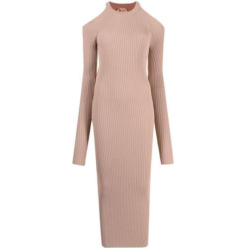N°21 Gestricktes Kleid