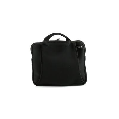 Amazon Basics Laptop Bag: Black Solid Bags