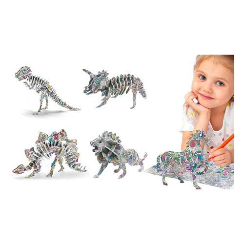 3D-Puzzle: 4er-Set / Tiere
