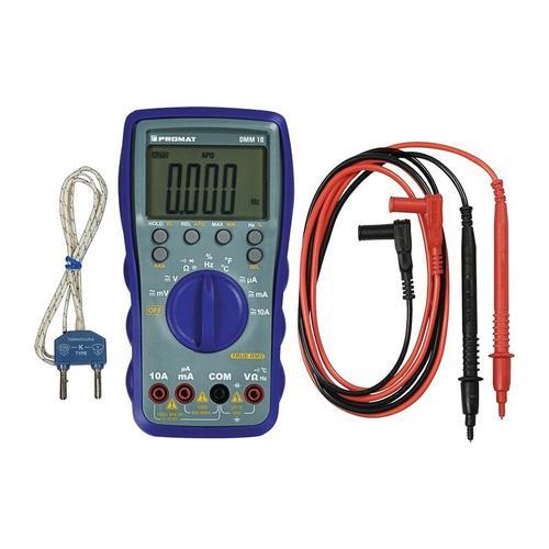 PROMAT Multimeter DMM 10 0-600 V AC/DC TRUE RMS