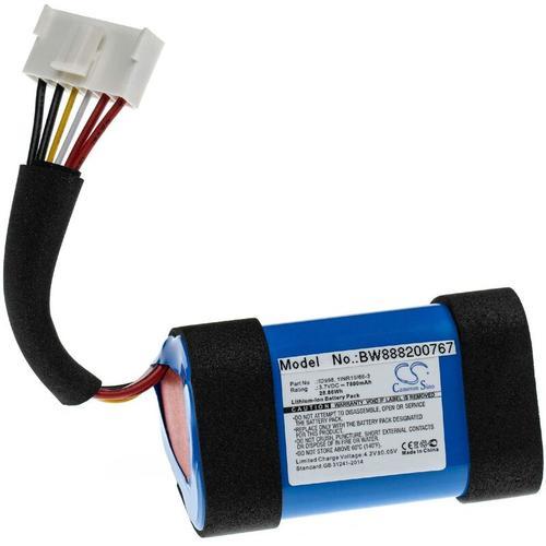 vhbw Akku kompatibel mit JBL Charge 4, 4BLK, 4J, CHARGE4BLUAM Lautsprecher Boxen Speaker (7800mAh,
