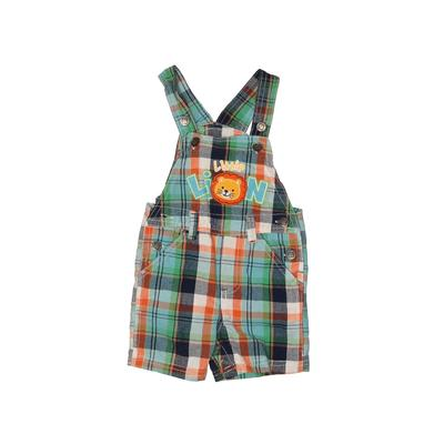 Z Boys Wear Overall Shorts: Blue Print Bottoms - Size 12 Month