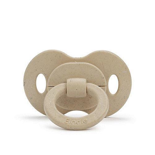 Bambus-Schnuller Latex Pure Khaki 2er-Pack Schnuller beige