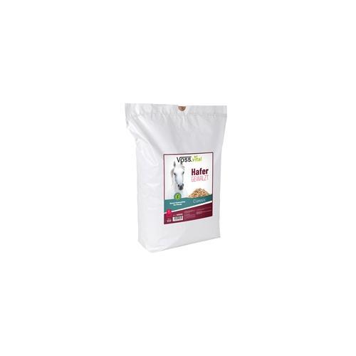VOSS.vital Hafer, gewalzt - Pferdefutter, 15kg