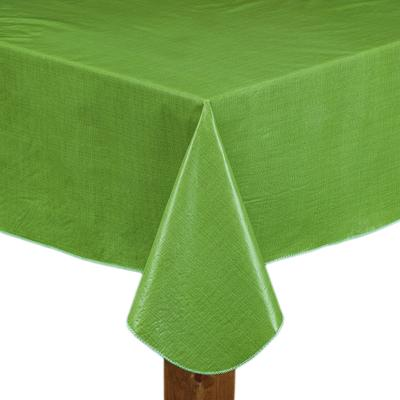 """CAFÉ DEAUVILLE Tablecloth by LINTEX LINENS in Sage (Size 70"""" ROUND)"""