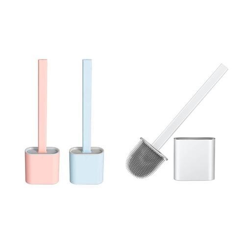 Silikon-WC-Bürste: Rosa/ 1